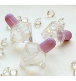 Poročni milni mehurčki, Kristal, lila