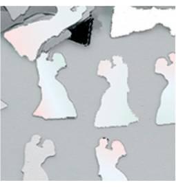 Poročni namizni konfeti Poročni par