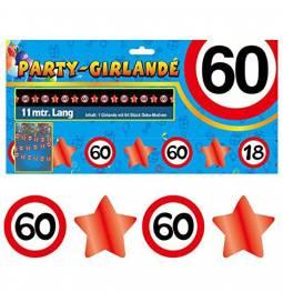 Girlanda Zvezdice in številke 50 let