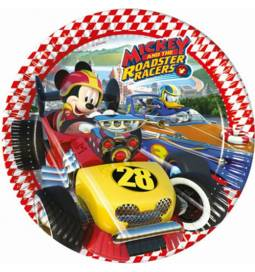 Krožniki 20 cm, Mickey Racers 8/1