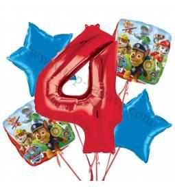 Paw Patrol balonska dekoracija, 3. rojstni dan