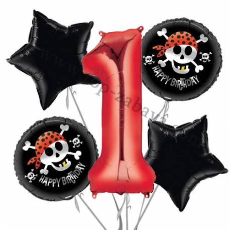 Paw Patrol balonska dekoracija, 1. rojstni dan