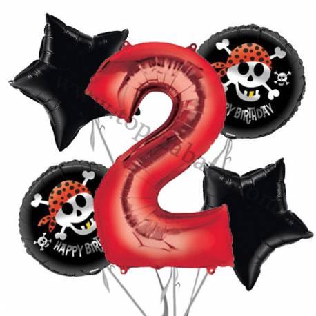 Pirati balonska dekoracija, 1. rojstni dan