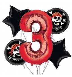 Pirati balonska dekoracija, 2. rojstni dan