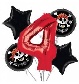 Pirati balonska dekoracija, 3. rojstni dan
