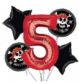 Pirati balonska dekoracija, 4. rojstni dan