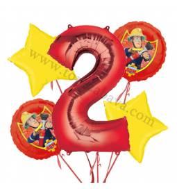 Gasilec Samo balonska dekoracija, 1. rojstni dan