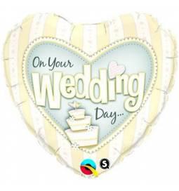 Folija balon Poročni dan