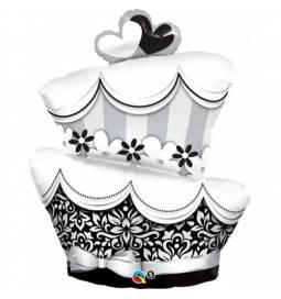 Folija balon Poročna torta