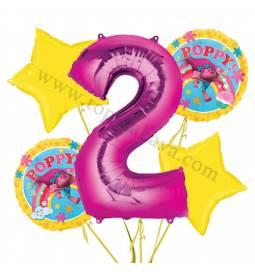 Troli balonska dekoracija, 1. rojstni dan