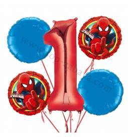 Telebajski balonska dekoracija, 1. rojstni dan