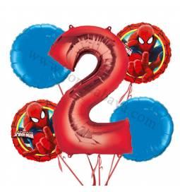 Spiderman balonska dekoracija, 1. rojstni dan