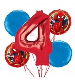 Spiderman balonska dekoracija, 3. rojstni dan