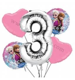 Frozen balonska dekoracija, 2. rojstni dan