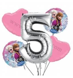 Frozen balonska dekoracija, 4. rojstni dan
