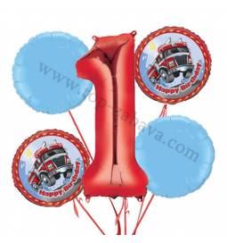 Frozen balonska dekoracija, 1. rojstni dan