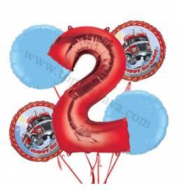 Gasilci balonska dekoracija, 1. rojstni dan