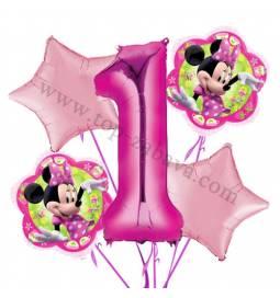 Medvedek Pu balonska dekoracija, 1. rojstni dan