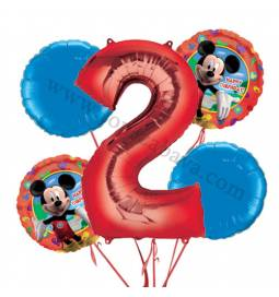 Miki Mouse balonska dekoracija, 1. rojstni dan