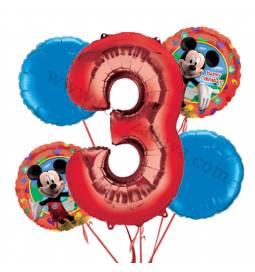 Miki Mouse balonska dekoracija, 2. rojstni dan