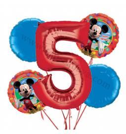 Miki Mouse balonska dekoracija, 4. rojstni dan