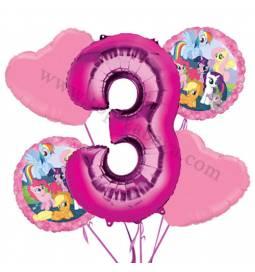 My Little Pony balonska dekoracija, 2. rojstni dan