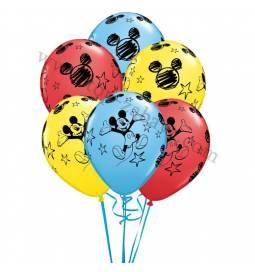 Dekoracija iz balonov Miki Mouse 10/1