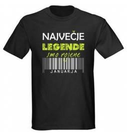 Majica za rojstni dan, Legende januar, črna