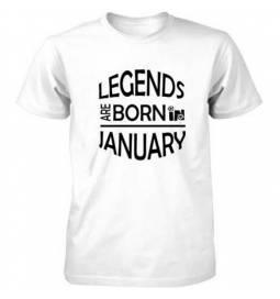 Majica za rojstni dan, Legends january