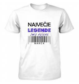 Majica za rojstni dan, Legende marec