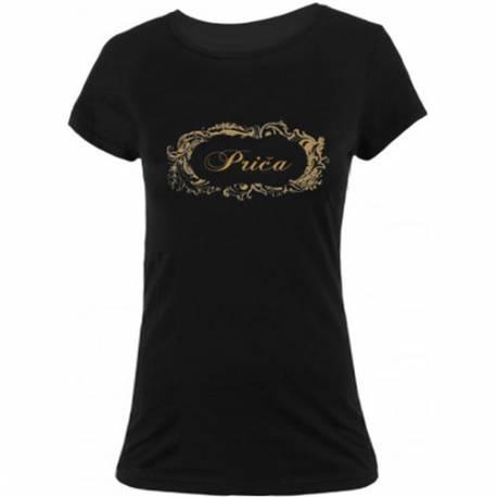 Majica za dekliščino Nevestina družica, črna