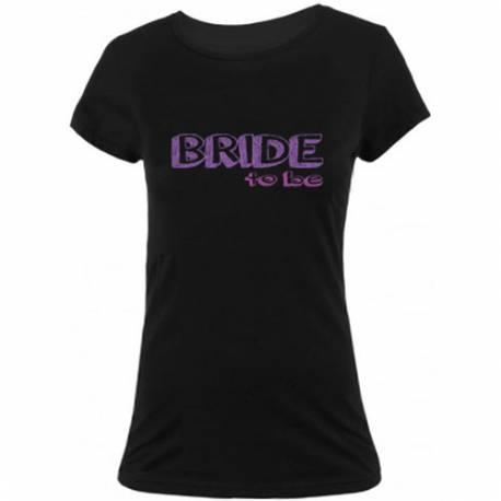 Majica za dekliščino Priča, črna