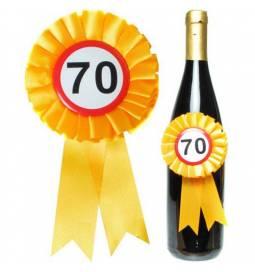 Roseta za steklenico 70 let