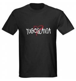 Majica Yugoslavia, črna