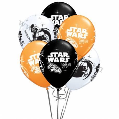 Dekoracija iz balonov Star Wars 10/1