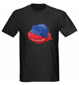 Majica Pionirska kapa, črna
