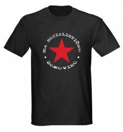 Majica Za socialistično domovino, črna
