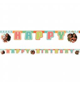 Transparent Vaiana Happy Birthday