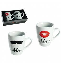 Set skodelic Mr in Mrs
