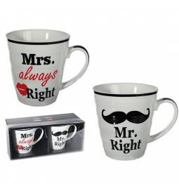Set skodelic Mr in Mrs 1