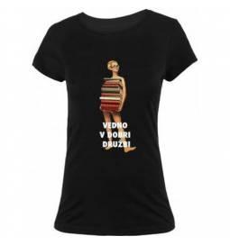 Majica Knjižničarka, črna