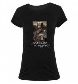Majica Najboljša vojakinja, črna