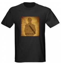 Majica za rojstni dan Detektiv št. 1 - črna