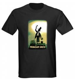 Majica za rojstni dan Najboljši dimnikar 2 - črna