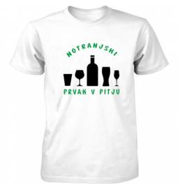 Majica Notranjski prvak v pitju