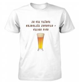 Majica Najboljše zdravilo je pivo