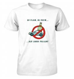 Majica Ko pijem ne vozim