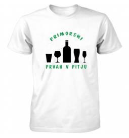 Majica Primorski prvak v pitju