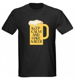 Majica Keep calm, črna