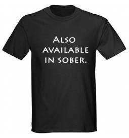 Majica Sober, črna